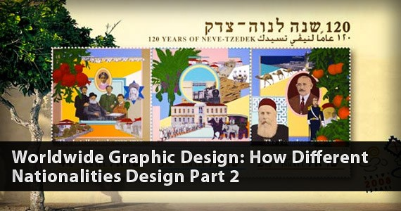 Worldwide Graphic Design: How Different Nationalities Design Part 2