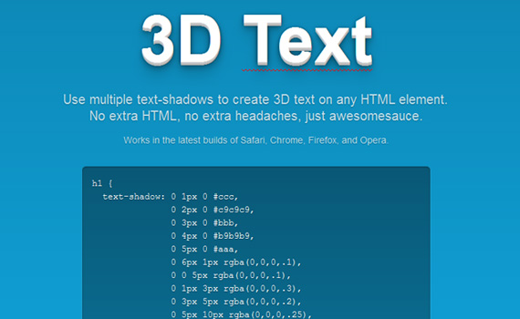 3d-css3-text-effect-tutorials