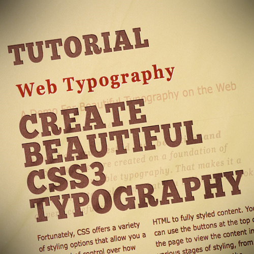 Beautiful-typography-css3-text-effect-tutorials