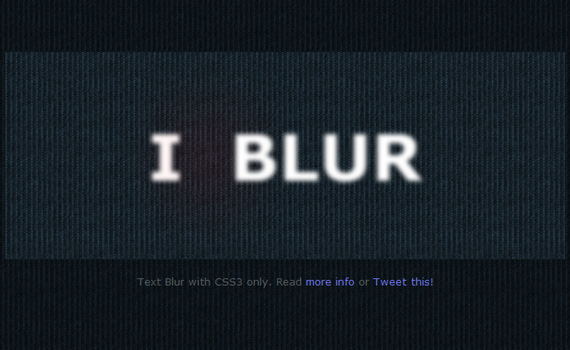 Blur-css3-text-effect-tutorials