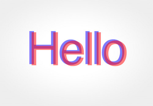 Cool-anaglyphic-css3-text-effect-tutorials