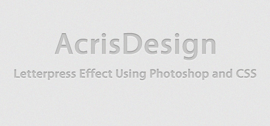 Letterpress-photoshop-css3-text-effect-tutorials