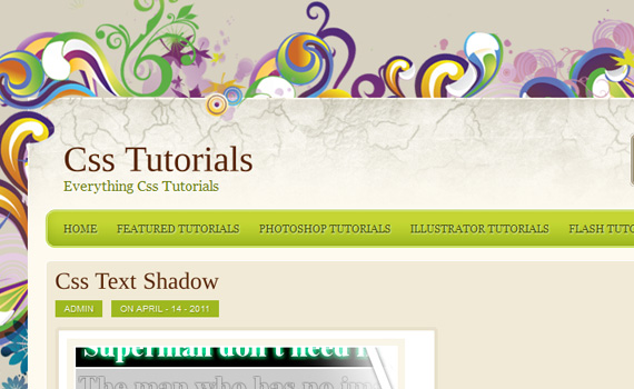 Shadow-2-css3-text-effect-tutorials
