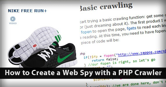 How to Create a Web Spy with a PHP Crawler