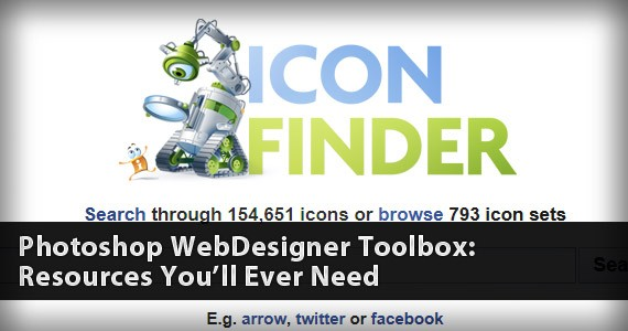 Photoshop WebDesigner Toolbox: All the Resources You'll Ever Need