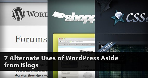7 Alternate Uses of WordPress Aside from Blogs