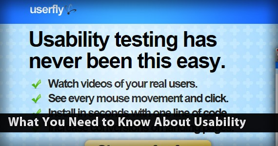 What You Need to Know About Usability