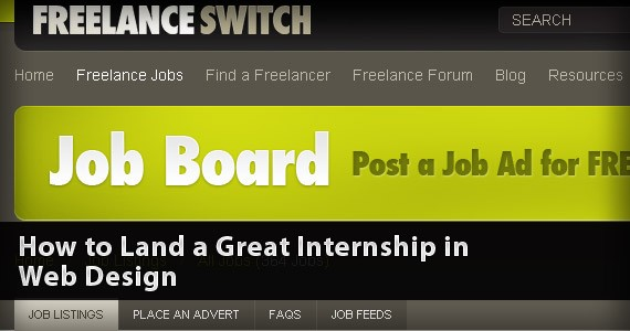 How to Land a Great Internship in Web Design