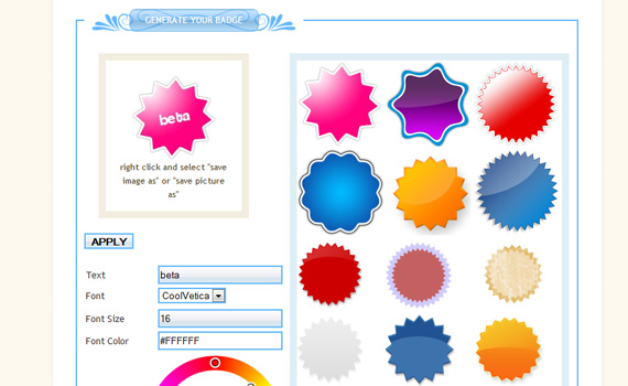 Badges-useful-online-generators-improve-workflow