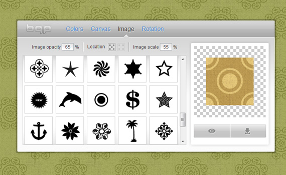 Online Pattern Generator - 20 Tools For Designers
