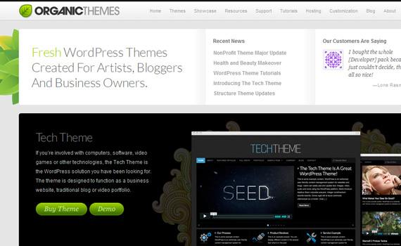 Organicthemes-marketplaces-buy-sell-wordpress-themes