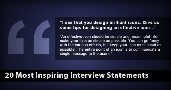20 Most Inspiring Interview Statements