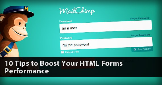 10 Tips to Boost Your HTML Forms Performance
