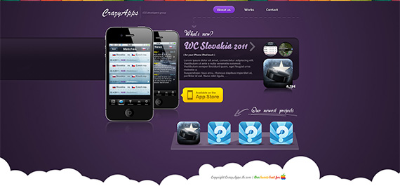 Crazyapps-splendid-trendy-web-design-deviantart