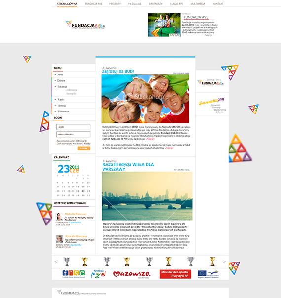 Fundacjaave-splendid-trendy-web-design-deviantart