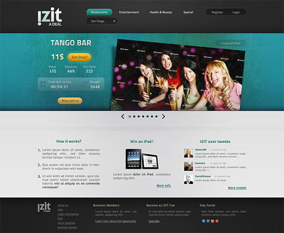Izit-splendid-trendy-web-design-deviantart