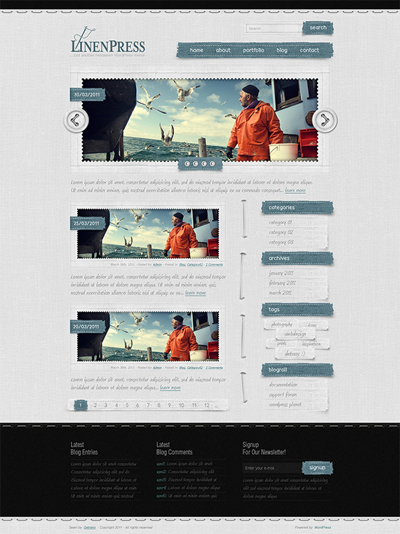Linenpress-splendid-trendy-web-design-deviantart
