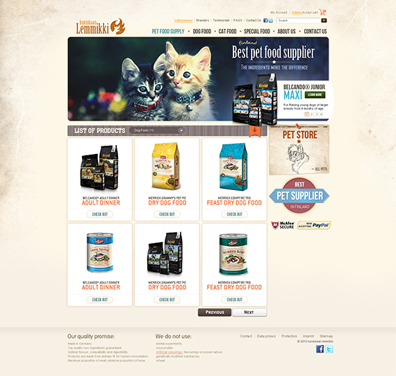 Pet-store-splendid-trendy-web-design-deviantart