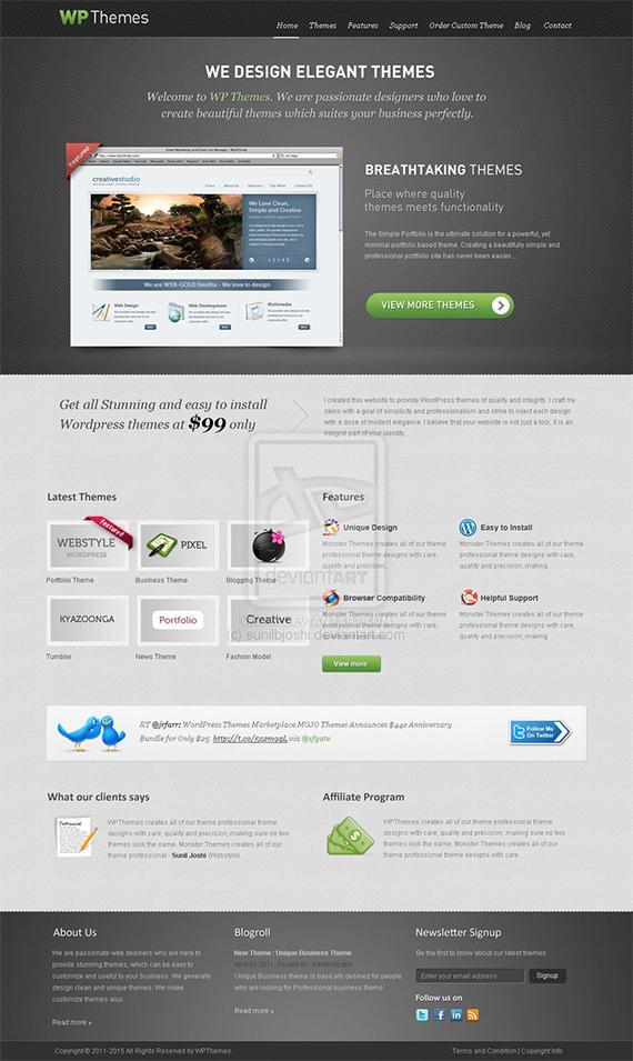 Wptheme-splendid-trendy-web-design-deviantart