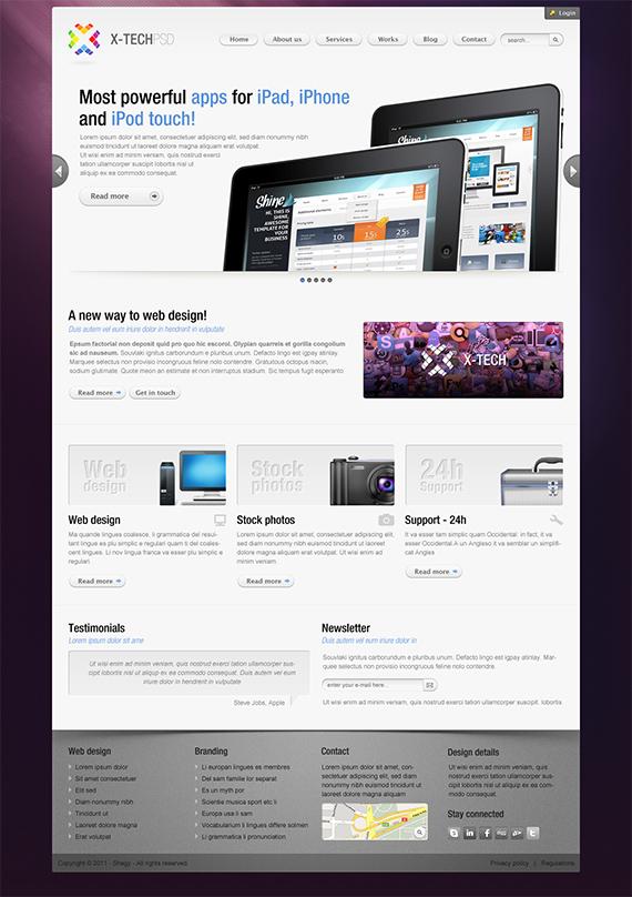 Xtech-splendid-trendy-web-design-deviantart