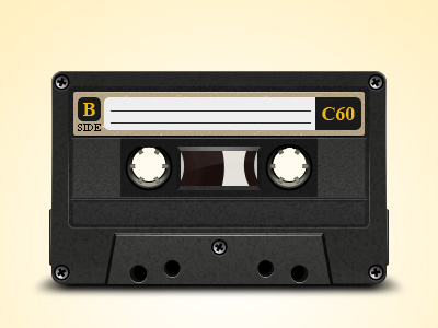 Cassette-free-psd-dribbble