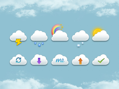 Mini-clouds-free-psd-dribbble