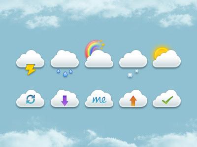 Mini-clouds-free-psd-dribbble