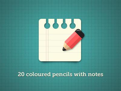 Pencils-free-psd-dribbble