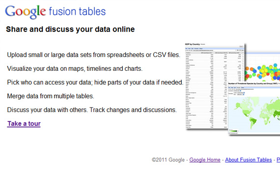 Fusion-tables-google-products-didnt-know-about
