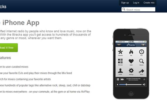 8tracks-useful-iphone-apps