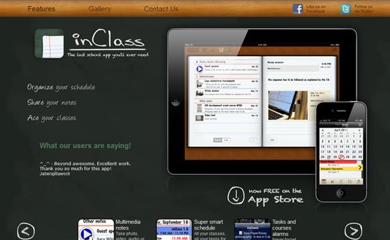 Inclass-useful-iphone-apps