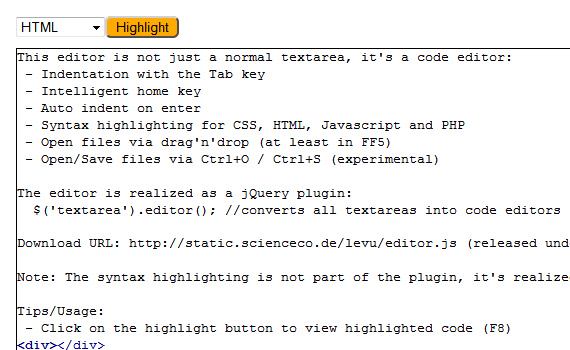 Code-editor-new-cool-jquery-plugins-2011