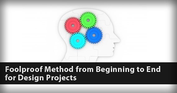 Foolproof Method from Beginning to End for Design Projects