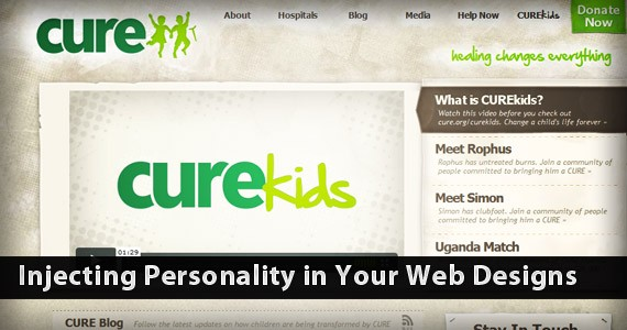 Injecting Personality in Your Web Designs