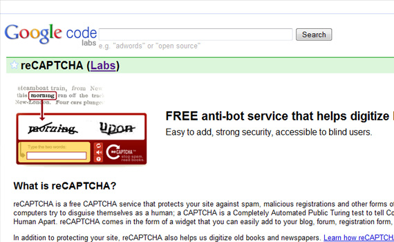 Recaptcha-google-products-didnt-know-about