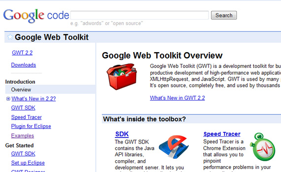 Web-toolkit-google-products-didnt-know-about
