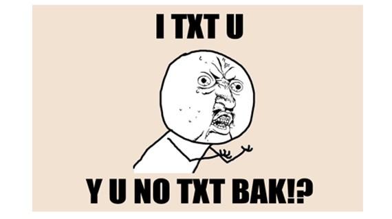 Ah the y u no    Y U No Face Text