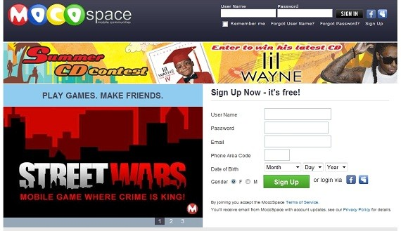 how to find someone on mocospace