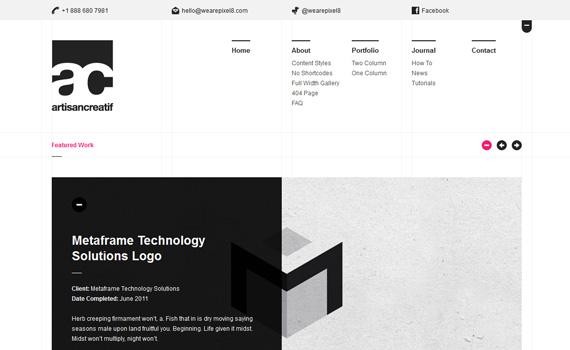 Artisancreatif-premium-portfolio-wordpress-themes