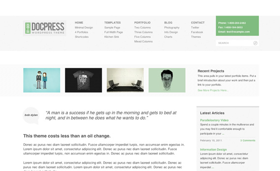 Docpress-premium-portfolio-wordpress-themes