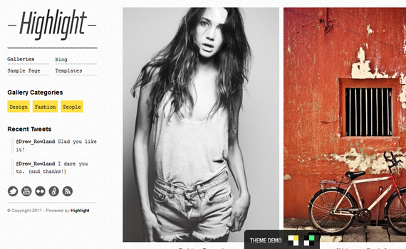 Highlight-premium-portfolio-wordpress-themes