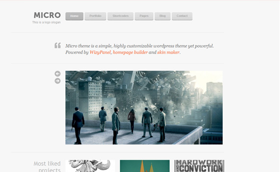 Micro-premium-portfolio-wordpress-themes
