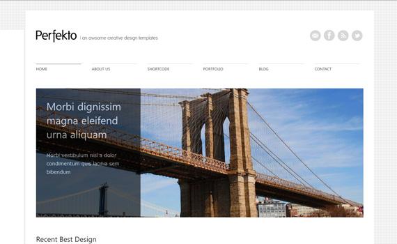 Minimal Portfolio Wordpress Themes Portfolio-wordpress-themes