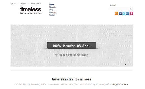 Timeless-premium-portfolio-wordpress-themes