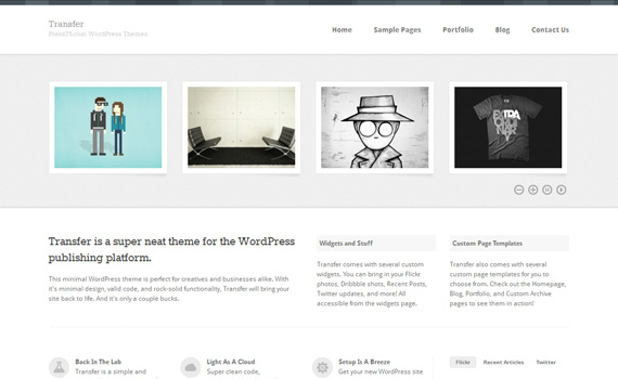 Transfer-premium-portfolio-wordpress-themes