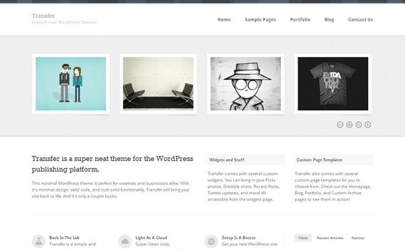 Minimal Wordpress Template. best minimalist wordpress themes for ...