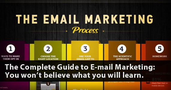 The Complete Guide to E-mail Marketing: You won't believe what you will learn