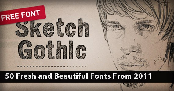 50 Fresh and Beautiful Fonts From 2011