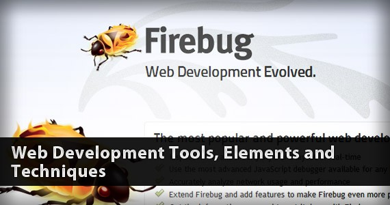 Web Development Tools, Elements and Techniques