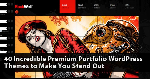 40 Incredible Premium Portfolio WordPress Themes to Make You Stand Out